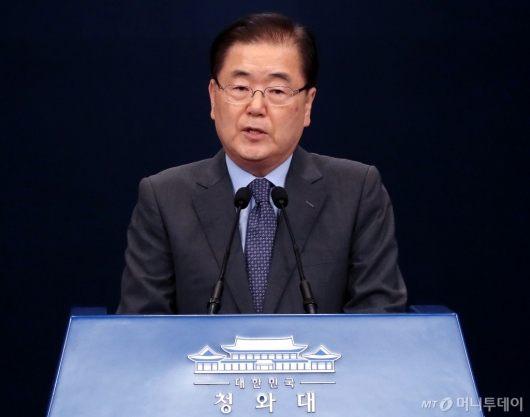 [사진]방북 결과 발표