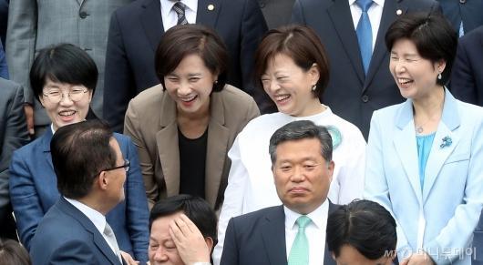 [사진]'즐거운 기념촬영'