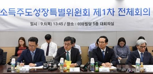 [사진]소득주도성장특별위원회 제1차 전체회의