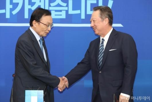 [사진]이해찬 대표 예방한 박용만 회장