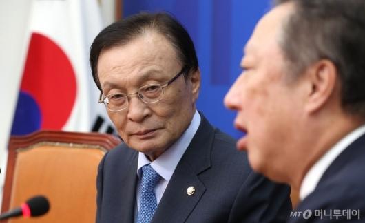 [사진]박용만 회장 만난 이해찬 대표