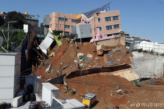 [사진]붕괴 직전의 서울상도유치원