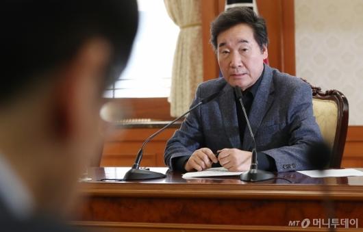 [사진]메르스 관련 장관회의 주재한 이낙연 총리