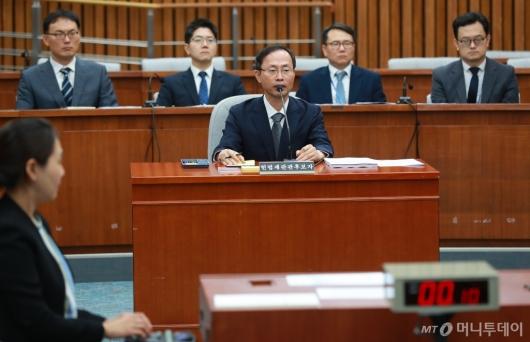 [사진]김기영 헌법재판관 후보자 인사청문회