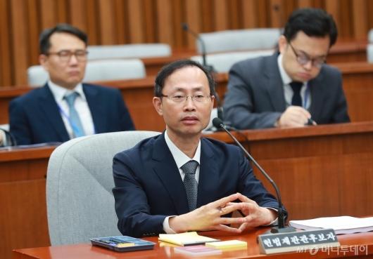[사진]검증대 오른 김기영 헌법재판관 후보자