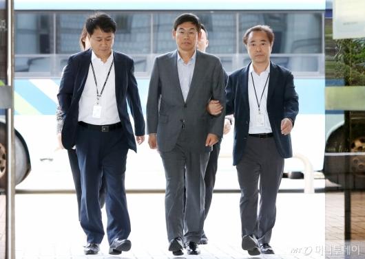[사진]이상훈 삼성전자 의장 구속여부는?