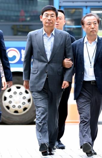 [사진]이상훈 삼성전자 의장 구속 기로