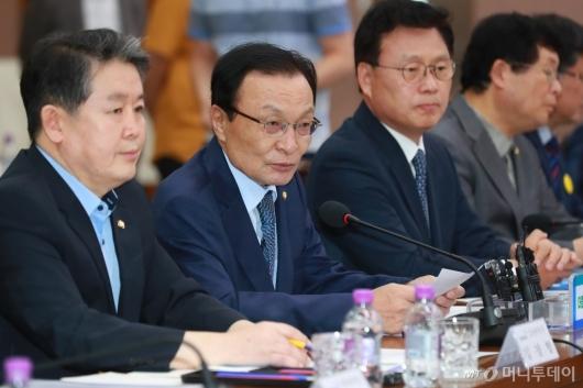 [사진]이해찬 대표, 예산정책協 모두발언