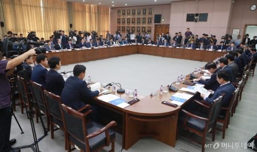 [사진]더불어민주당-경기도 예산정책협의회 개최