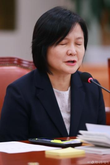 [사진]이은애 헌법재판관 후보자 '죄송합니다'