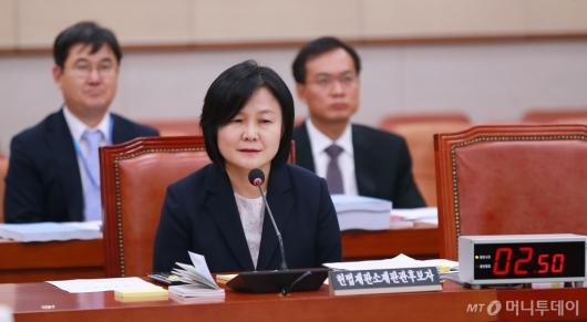 [사진]이은애 헌법재판관 후보자 인사청문회