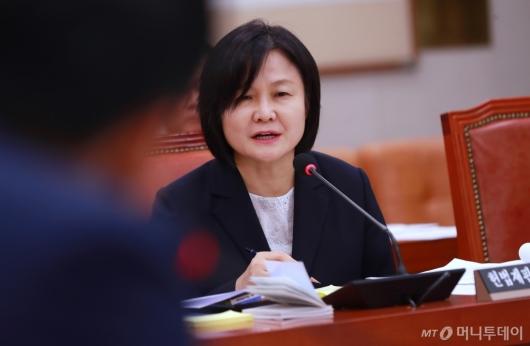 [사진]이은애 후보자 '위장전입 죄송, 사적이득 없었다'