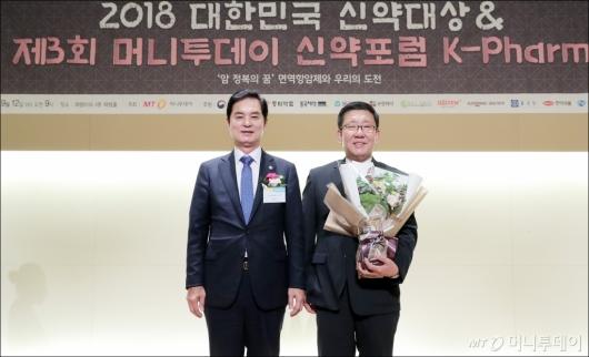 [사진]JW중외제약, '신약대상' 신약연구부문 대상 수상