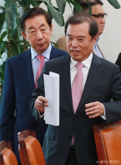 [사진]김병준-김성태, 부동산 정책 기자회견