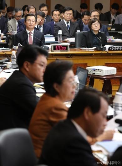 [사진]법사위 헌법재판소 국감