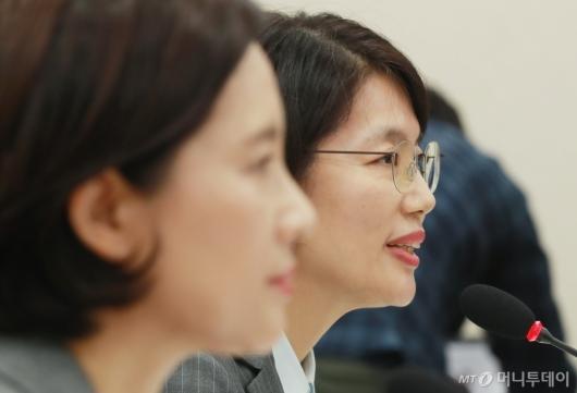 [사진]자유한국당 질의에 답하는 박춘란 차관