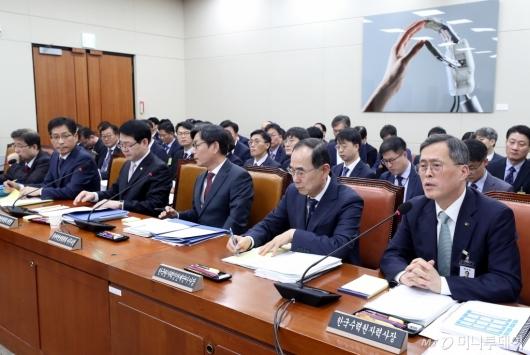 [사진]국회 원자력안전위원회 국정감사