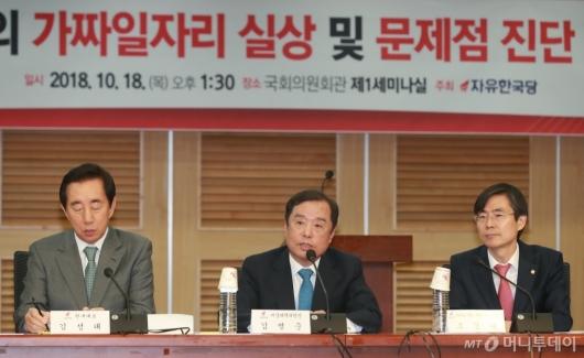 [사진]자유한국당, 가짜일자리 실상 및 문제점 토론회 개최