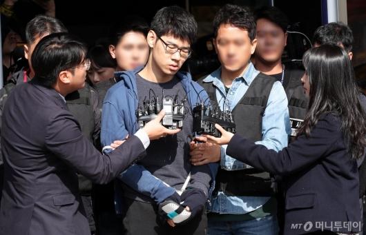 [사진]신상 공개된 '강서구 PC방 살인' 피의자 김성수