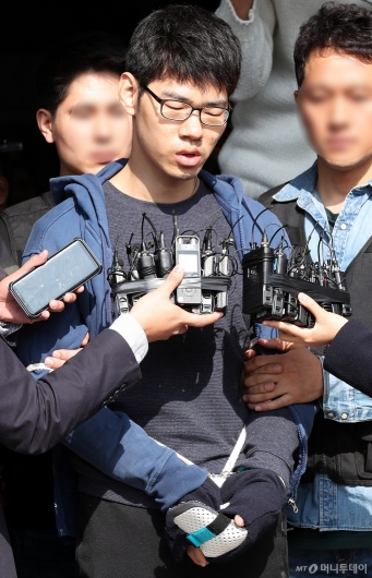 [사진]'강서구 PC방 살인' 피의자 김성수 얼굴공개