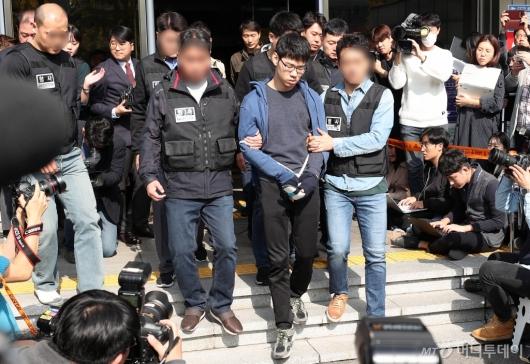 [사진]'강서구 PC방 살인' 피의자 김성수 얼굴 공개