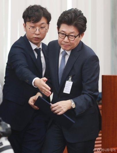 [사진]시작부터 험난한 조명래 환경부 장관 후보 인사청문회