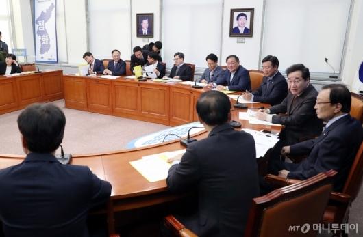 [사진]예산국회 앞두고 고위 당·정·청 회의