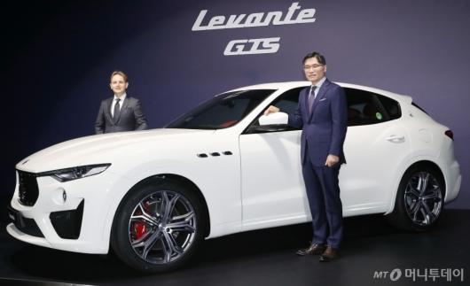 [사진]마세라티, SUV '르반떼 GTS' 출시