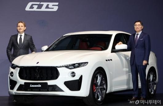 [사진]마세라티 '르반떼 GTS' 국내 출시