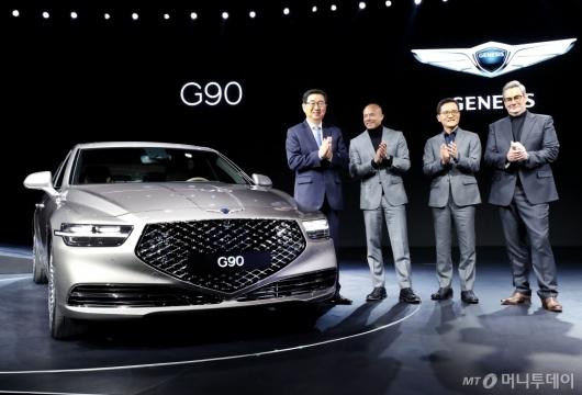 [사진]현대자동차 제네시스 G90 출시
