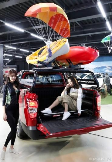 [사진]렉스턴 스포츠 칸, 넓은 트렁크 공간