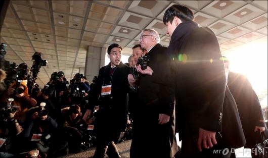 [사진]검찰 소환된 '사법농단' 양승태
