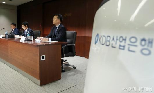 [사진]산업은행, '대우조선해양' 관련 기자간담회