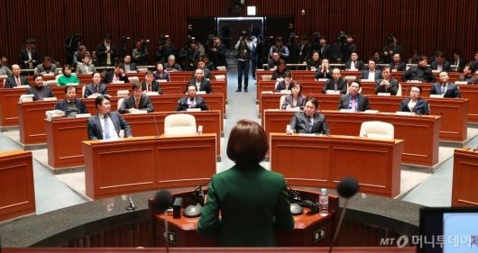 [사진]자유한국당 의원총회