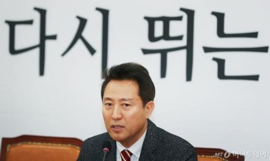 [사진]오세훈, 전당대회 보이콧 철회...당대표 재출마
