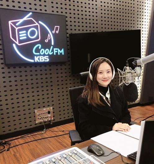 김지원 아나운서, 라디오 특별DJ 나선다
