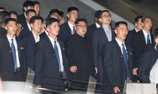 김정은, 삼성 베트남공장 가나