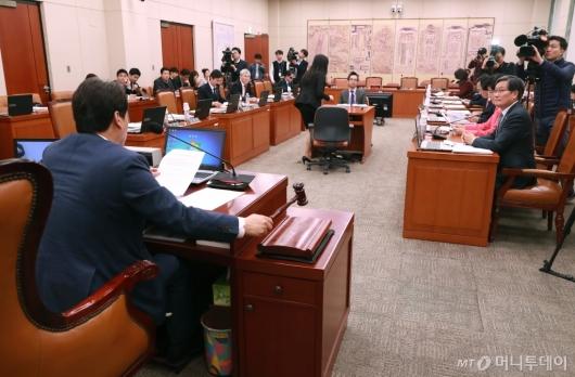 [사진]'박양우 후보자 인사청문회 채택' 문체위 전체회의