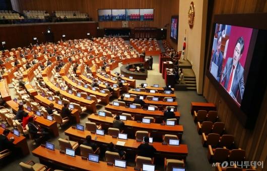 [사진]국회 외교·통일·안보분야 대정부질문