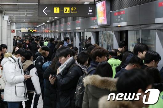 인천지하철 정전…1시간 가량 열차 멈춰