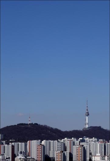 [사진]'티 없이 맑은 서울 하늘'