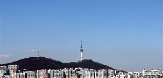 [사진]'깨끗한 서울 하늘'