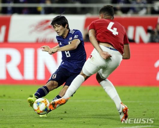 일본, 볼리비아에 1대0 승리