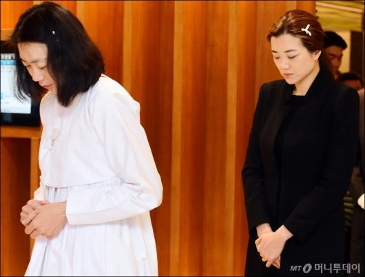 [사진]슬픔에 잠긴 조현아-조현민