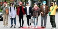 방탄소년단, 내추럴 사복 패션