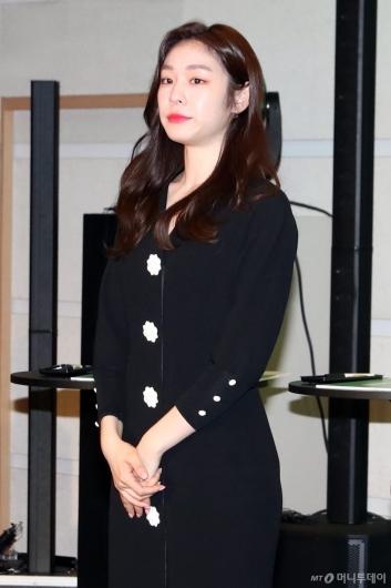 [사진]'행복커뮤니티' 론칭 행사 참석한 김연아
