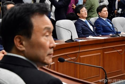 [사진]다시 열린 바른미래당 의원총회...'당의 미래는?'
