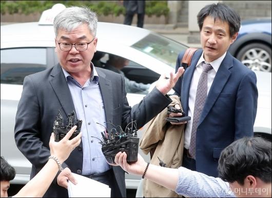 [사진]'윤지오 고소' 입장 밝히는 박훈 변호사-김대오 기자