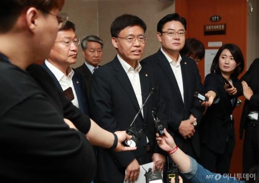 [사진]자유한국당, 사개특위 사보임 효력정지가처분 신청