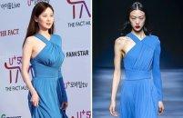 서현 vs 최소라, 같은 옷 다른 느낌